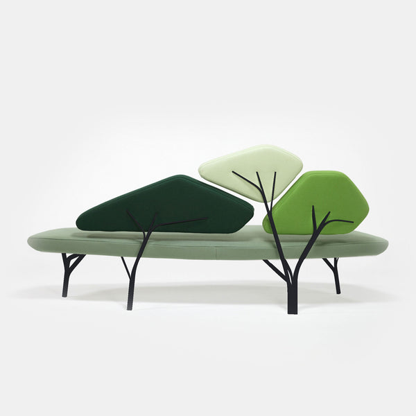 Borghese Sofa - Green, 4 Colours - Monologue London