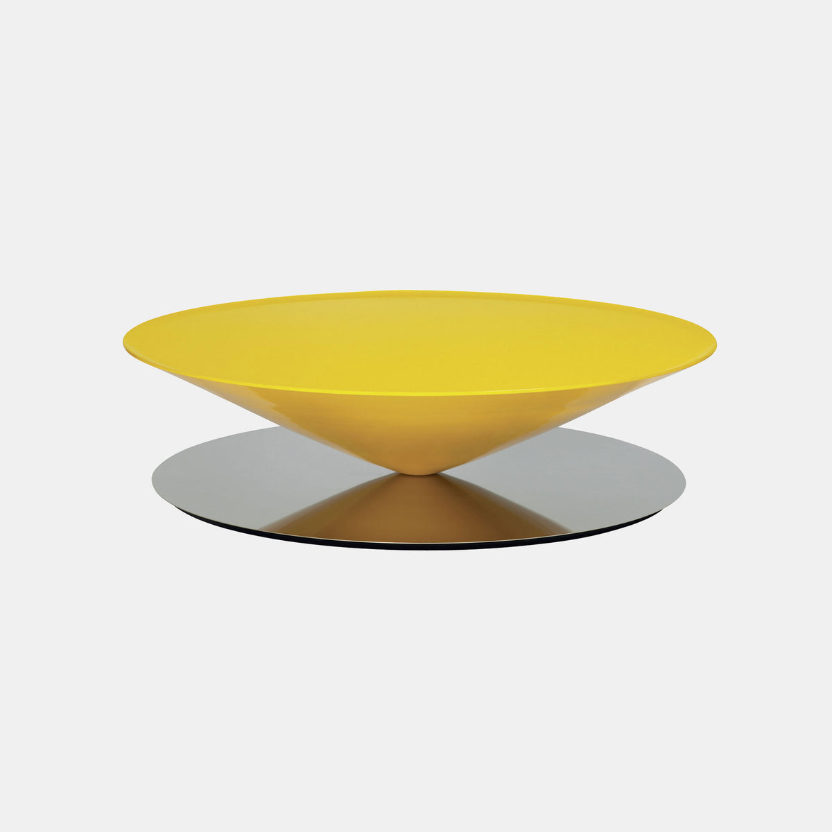 Float Coffee Table - Yellow - Monologue London