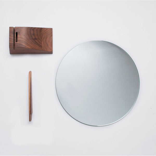 Lalou Table Mirror, Black - Monologue London