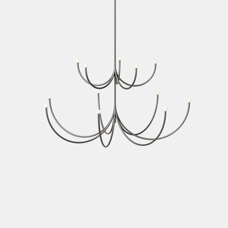 Arca Chandelier - 2 Tier Pendant - Monologue London