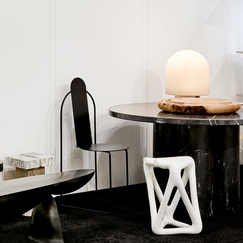 Slon Round Dining Table - Marble - Monologue London