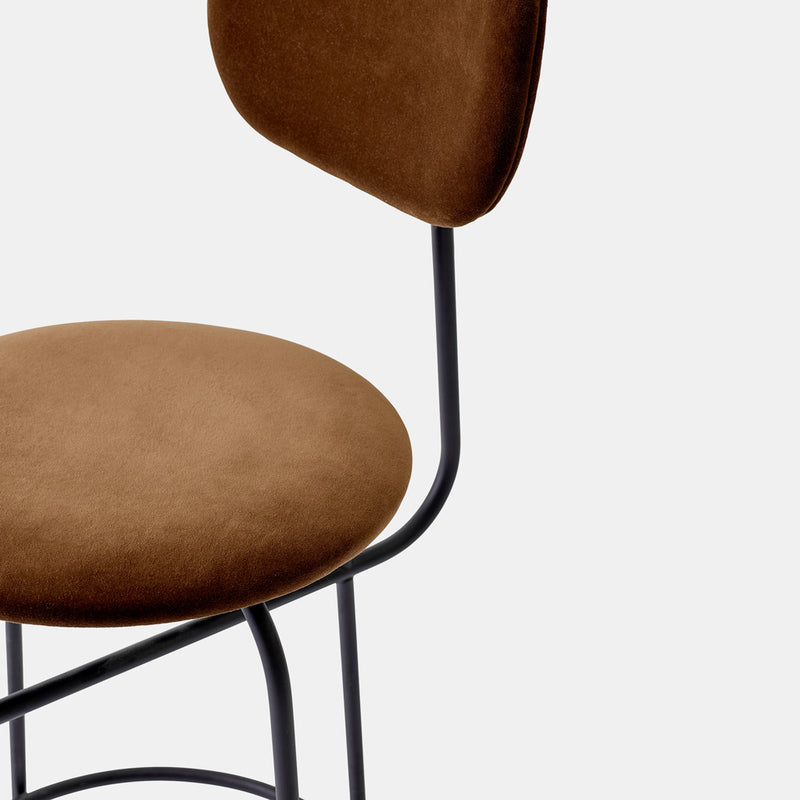 Afteroom Bar Chair Plus - Brown velvet - Monologue London