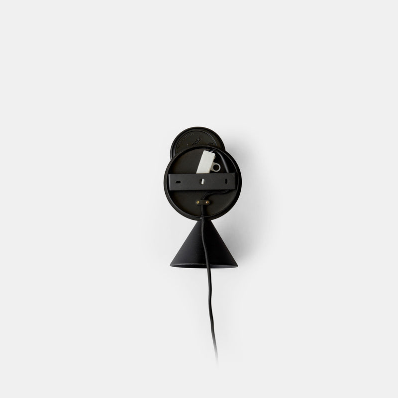 Cast Sconce Wall Lamp - Black - Monologue London