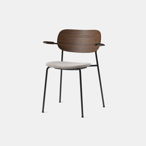 Co Chair - Dark Oak - Upholstered Seat