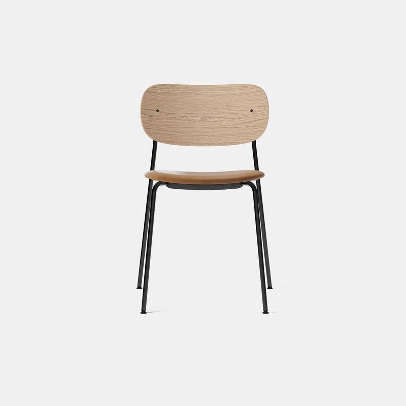 Co Chair - Natural Oak - Upholstered Seat