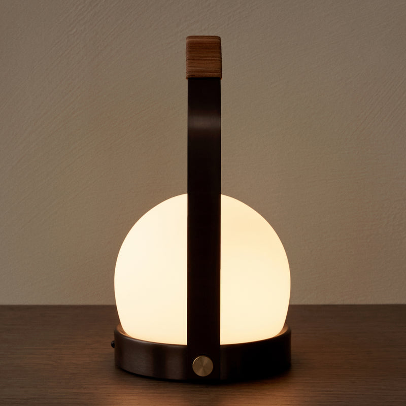 Carrie LED Lamp - Leather - Available for Pre-Order