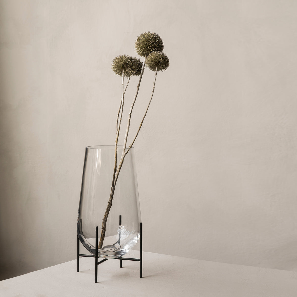 Echasse Vase - Clear