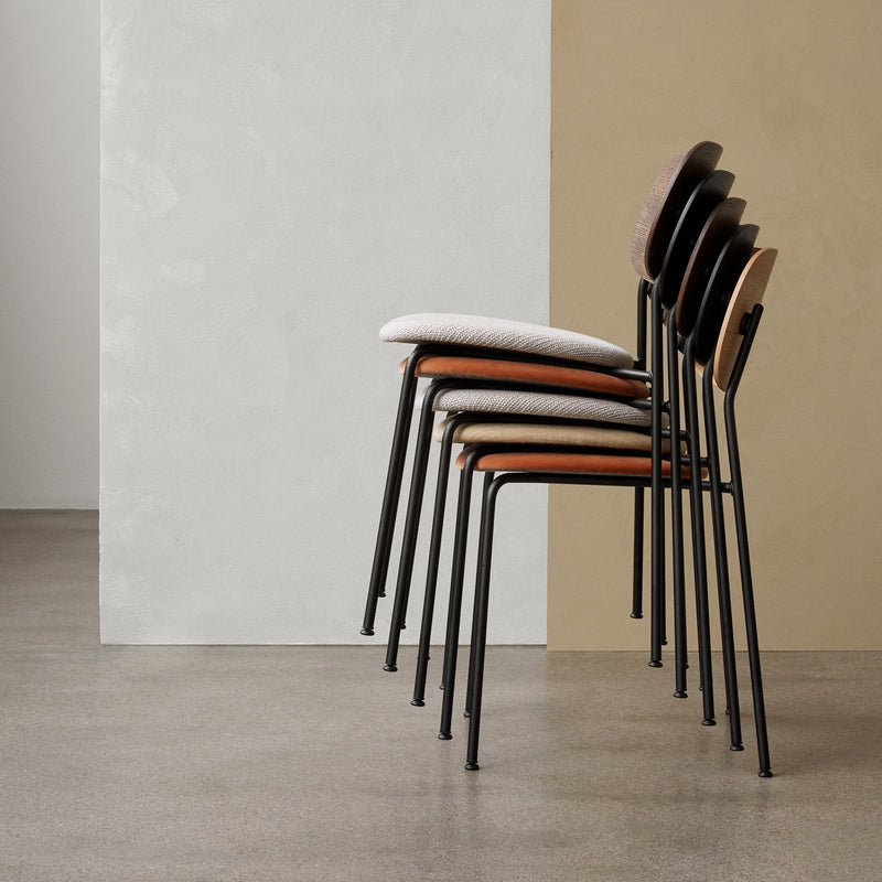 Co Chair - Natural Oak/Upholstered Seat - Monologue London
