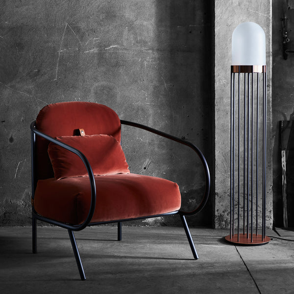 Minima Armchair - Red - Monologue London