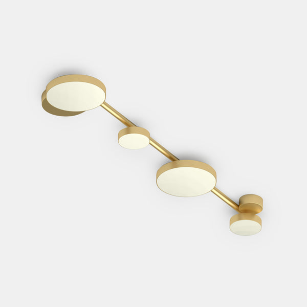 Line and Globes Ceiling Light - Circles