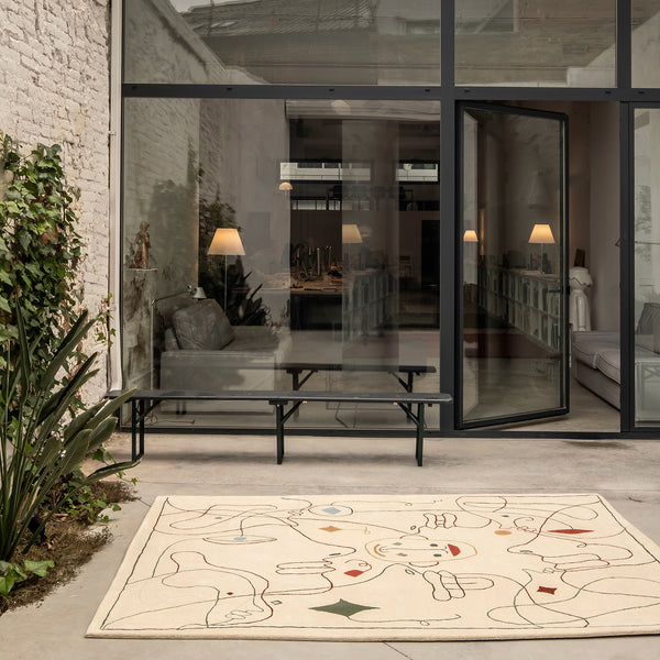 Silhouette Outdoor Rug - Monologue London