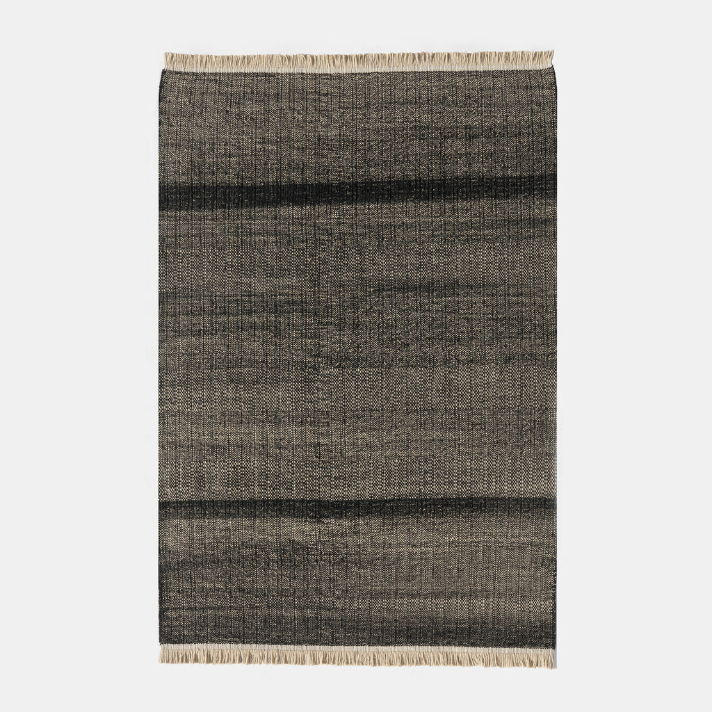 Tres Texture Outdoor Rug - Black - Monologue London