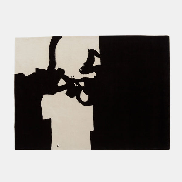 Chillida Rug - Collage 1966 - Monologue London