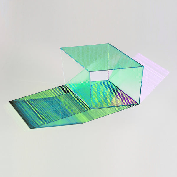 Rho Coffee Table - Coloured Glass