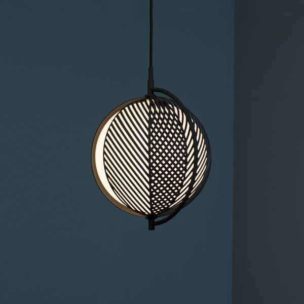 Mondo Triplette Pendant - Black - Monologue London