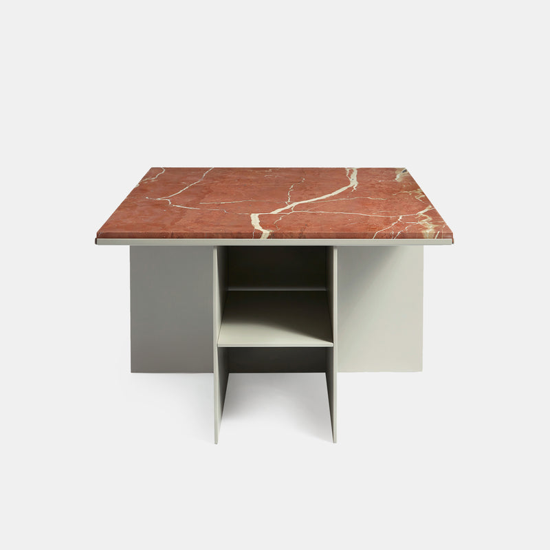 Uniform Coffee Table - Marble - Monologue London