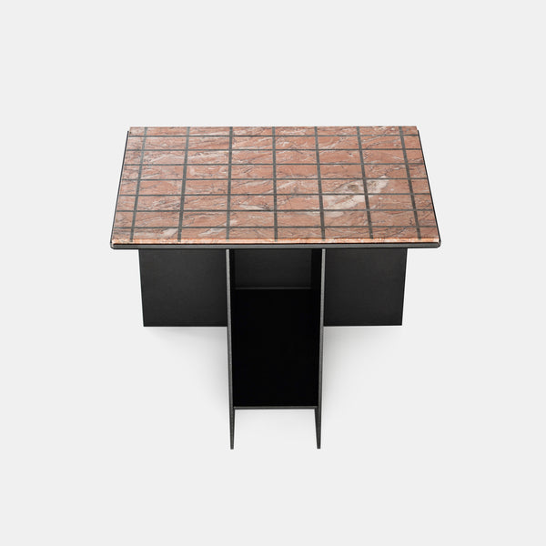 Uniform Side Table - Grid - Monologue London