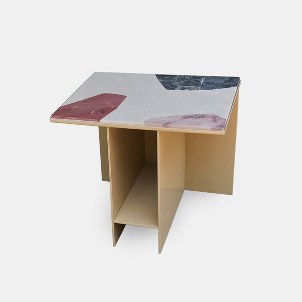 Uniform Side Table - Marble