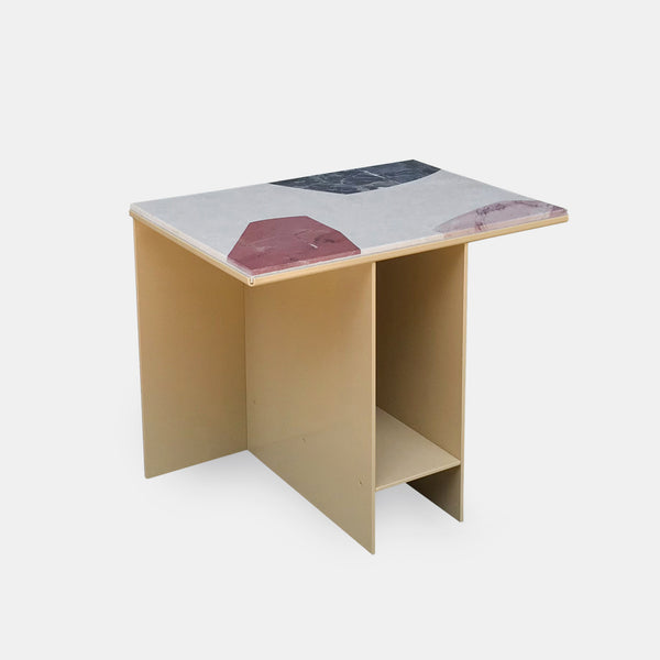 Uniform Side Table - Marble - Monologue London