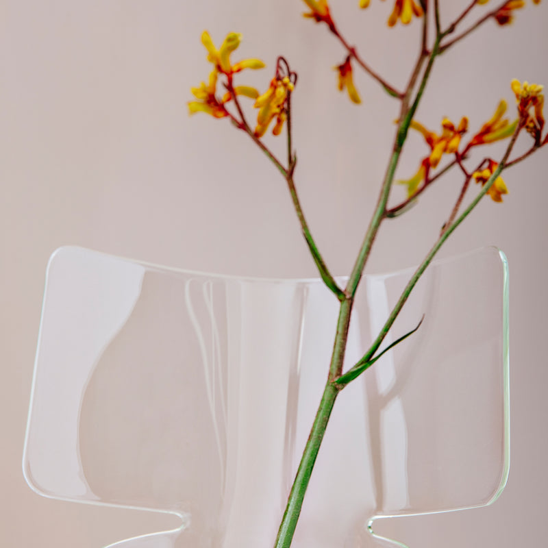 Riflessi Vase - Tall, Transparent - Monologue London