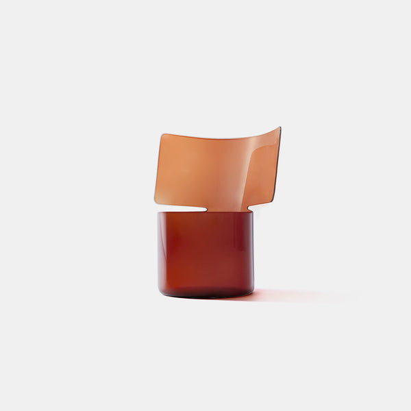 Riflessi Vase - Medium, Amber - Monologue London