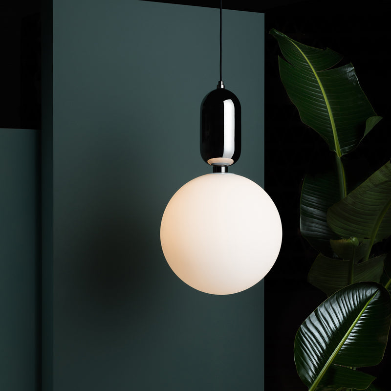 Aballs T Pendant Lamp - Black - Monologue London