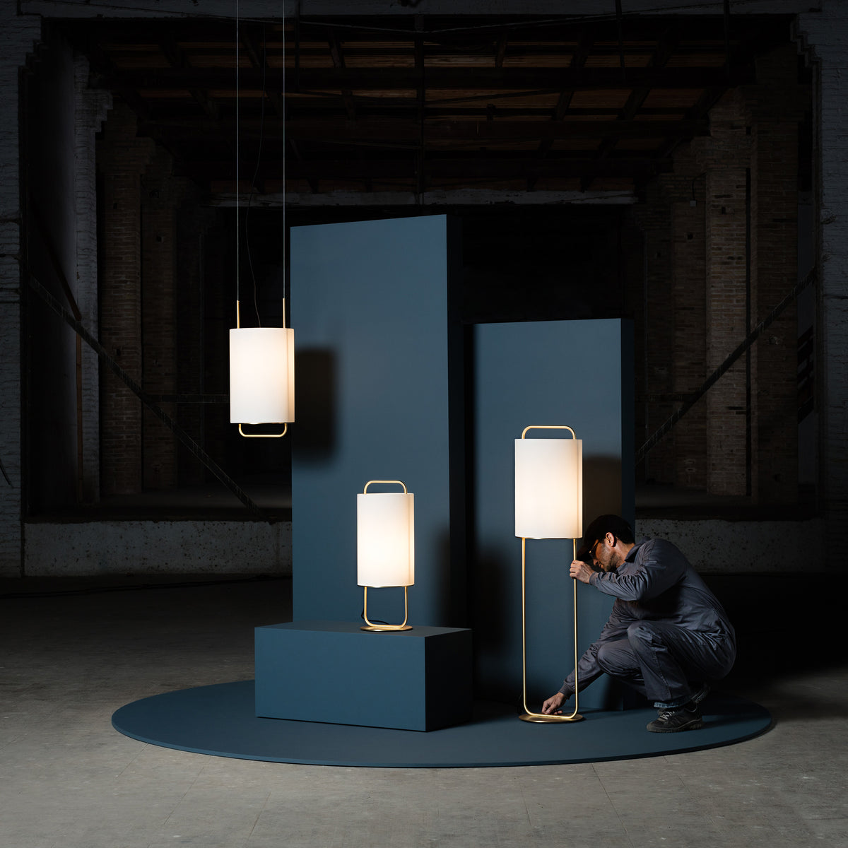 Alistair M Table Lamp - Monologue London