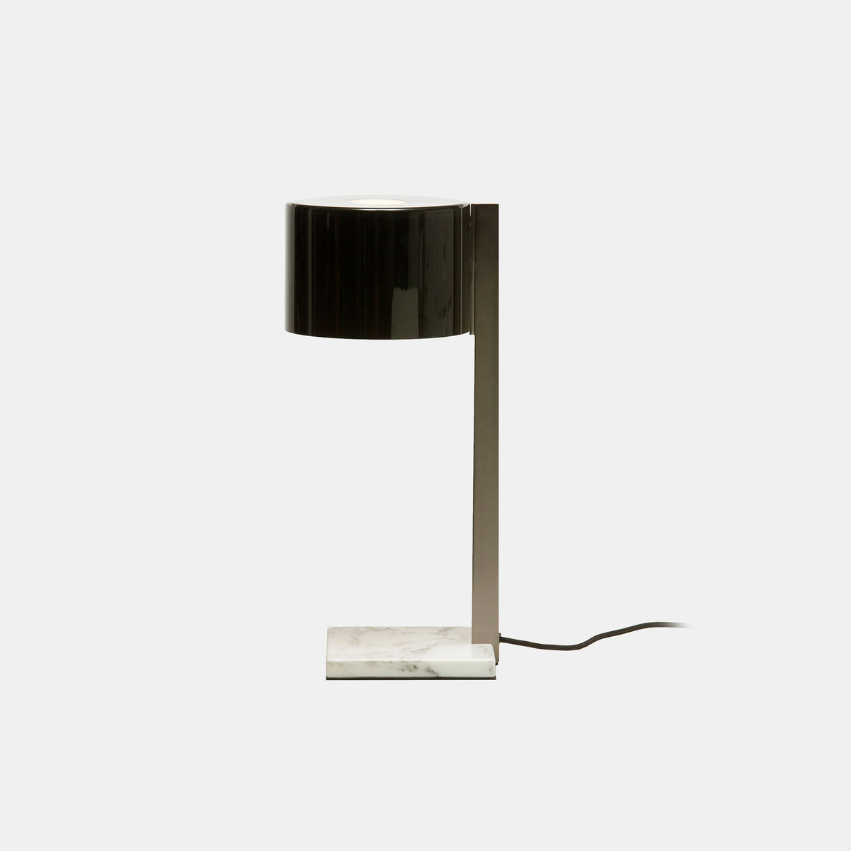 Beta M Table Lamp, Grey & White Marble - Monologue London