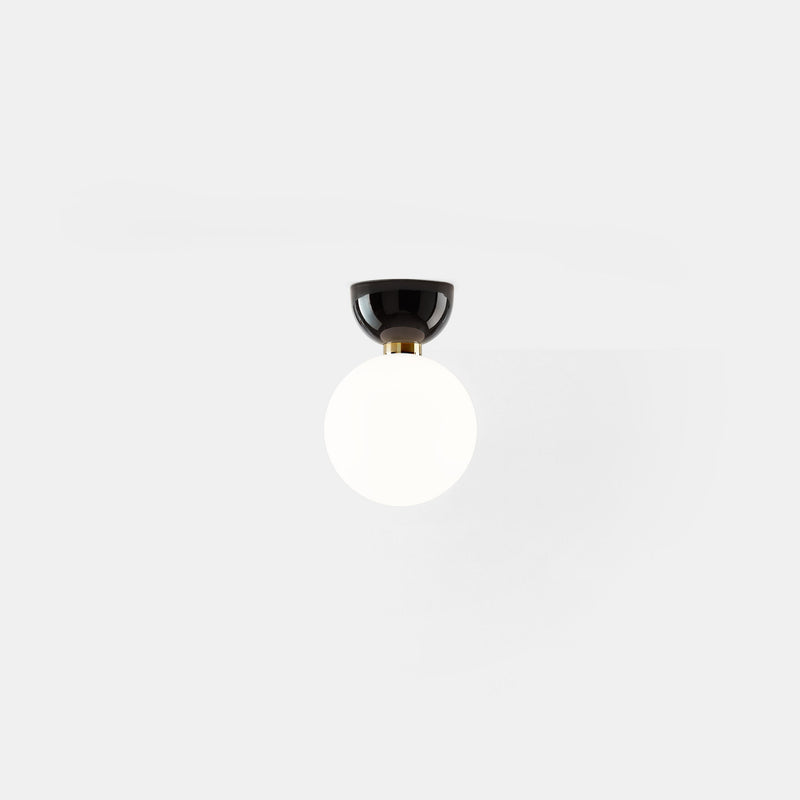 Aballs A II Wall/Ceiling Light - Black - Monologue London