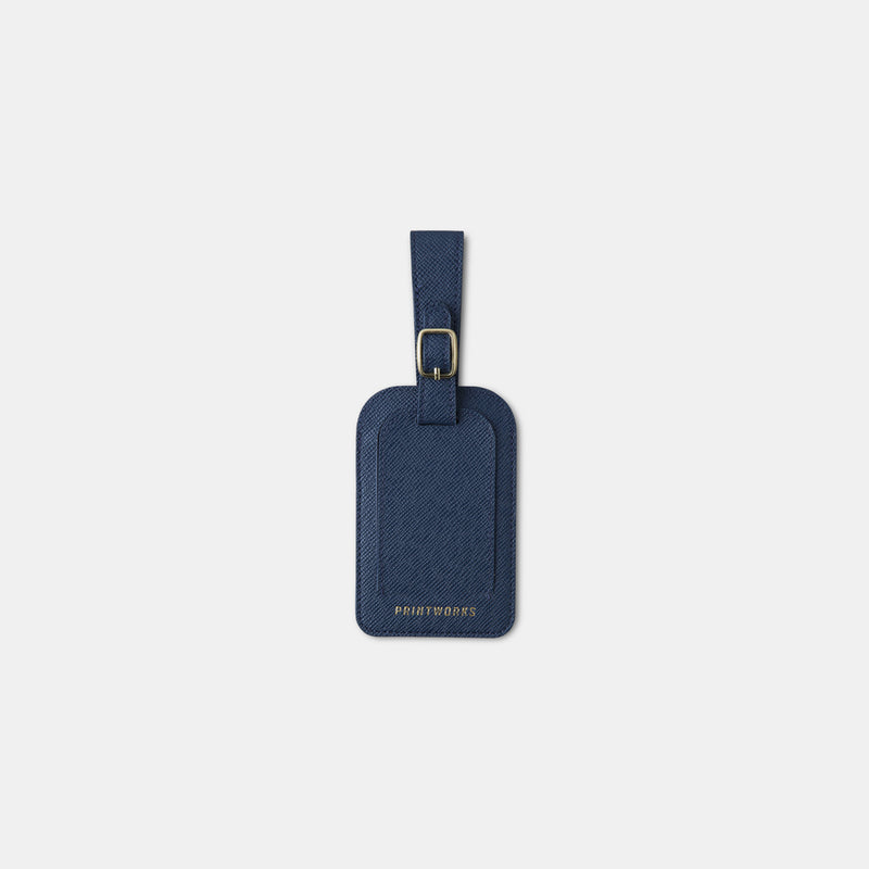 Luggage Tag - Blue - Monologue London