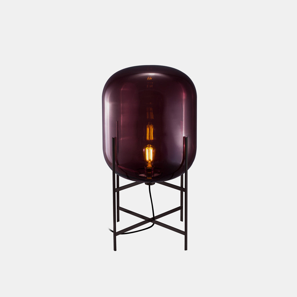 Oda Lamp - Medium, Aubergine - Monologue London