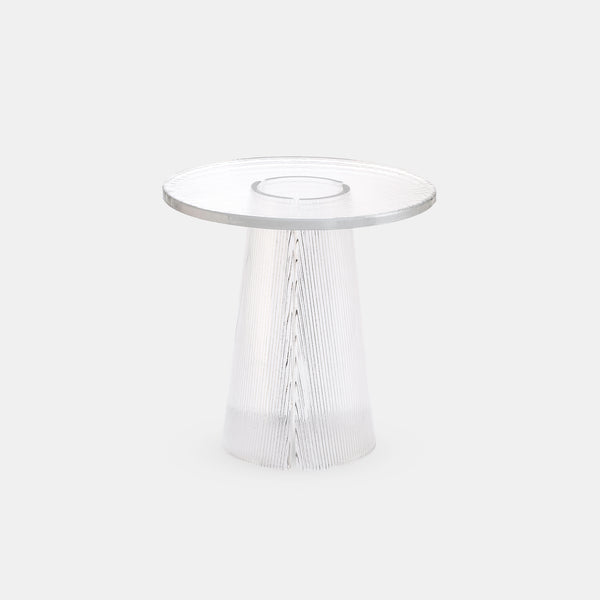 Bent Side Table - High - Monologue London