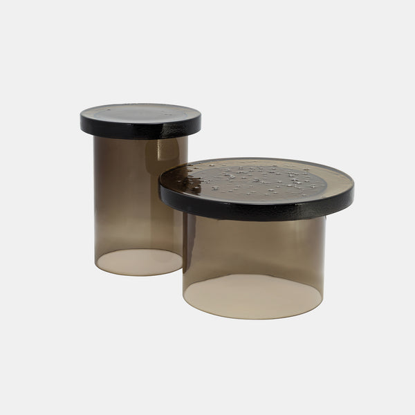 Alwa Three Table - Smoky Grey - Monologue London