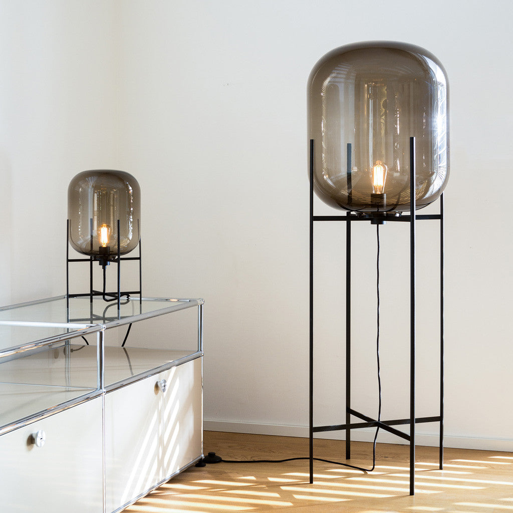 Oda Lamp - Small, Smoky grey - Monologue London