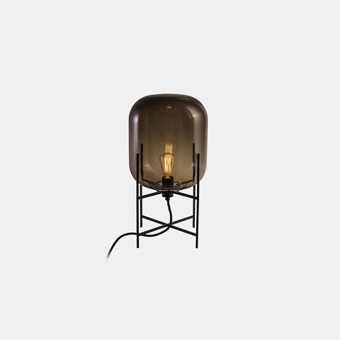 Oda Lamp - Small, Smoky grey