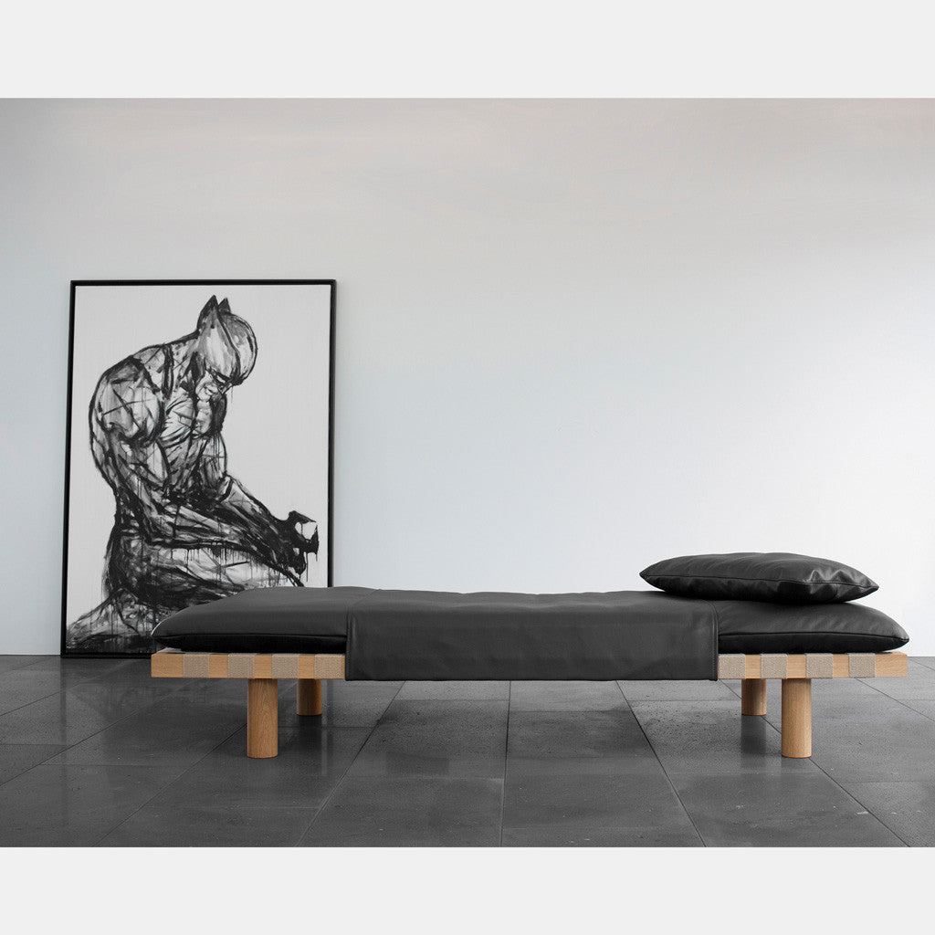 Pallet Day Bed - Black - Monologue London