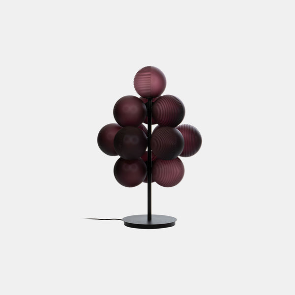Stellar Grape Floor Lamp - Aubergine