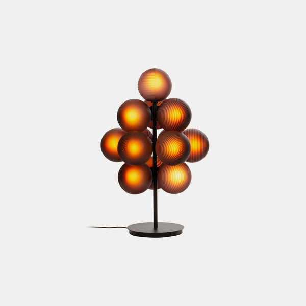 Stellar Grape Floor Lamp - Aubergine - Monologue London
