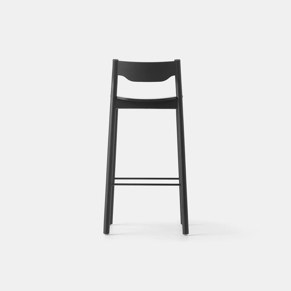 Tangerine Bar Stool with Back
