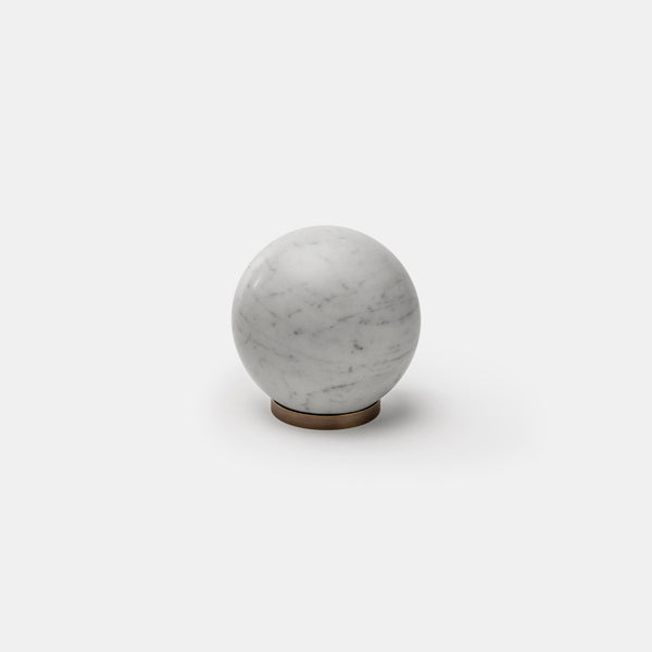 Gravity Marble Sphere - Carrara