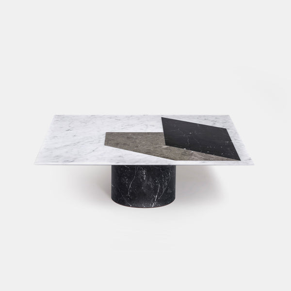 Proiezioni Square Coffee Table - Black