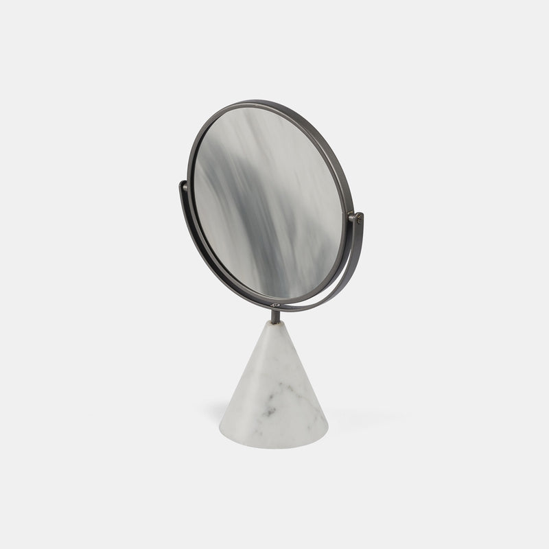 Table Mirror - Carrara marble - Monologue London