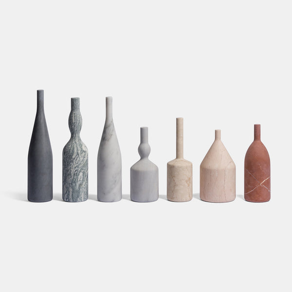 Omaggio a Morandi - Decorative Bottles, Set of 7 - Monologue London