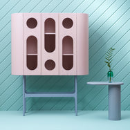 Oblo' A Cabinet - Pink & Grey - Monologue London