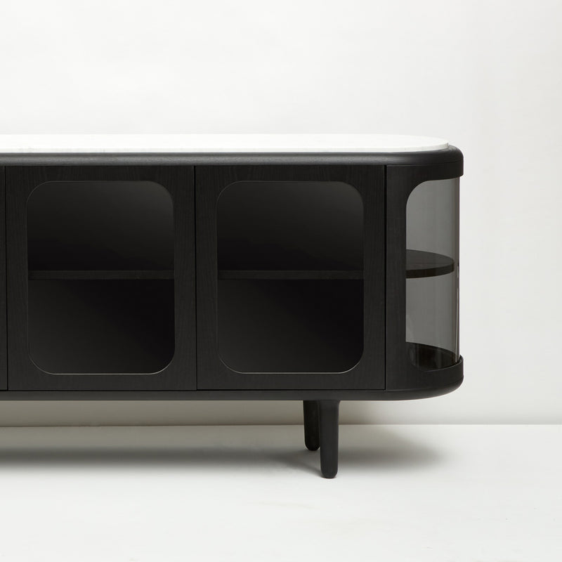 Settebello Low Cabinet - Black - Monologue London