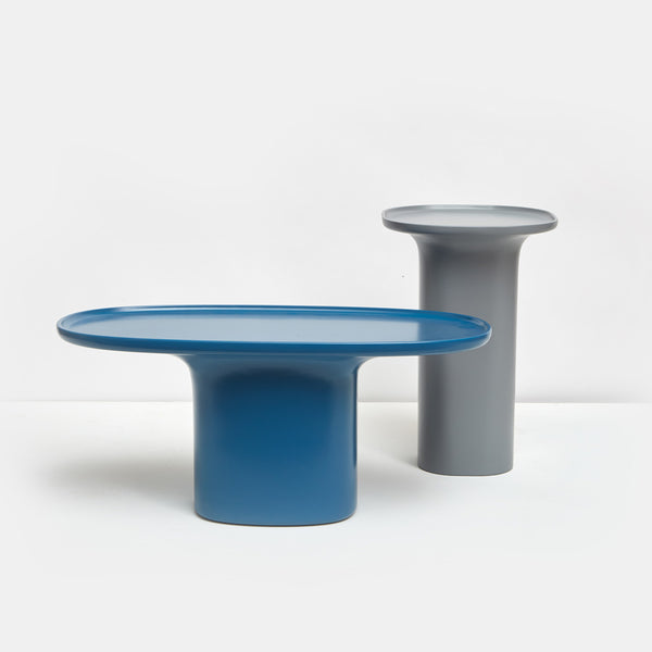 Sune Coffee Table - Small, Blue - Monologue London