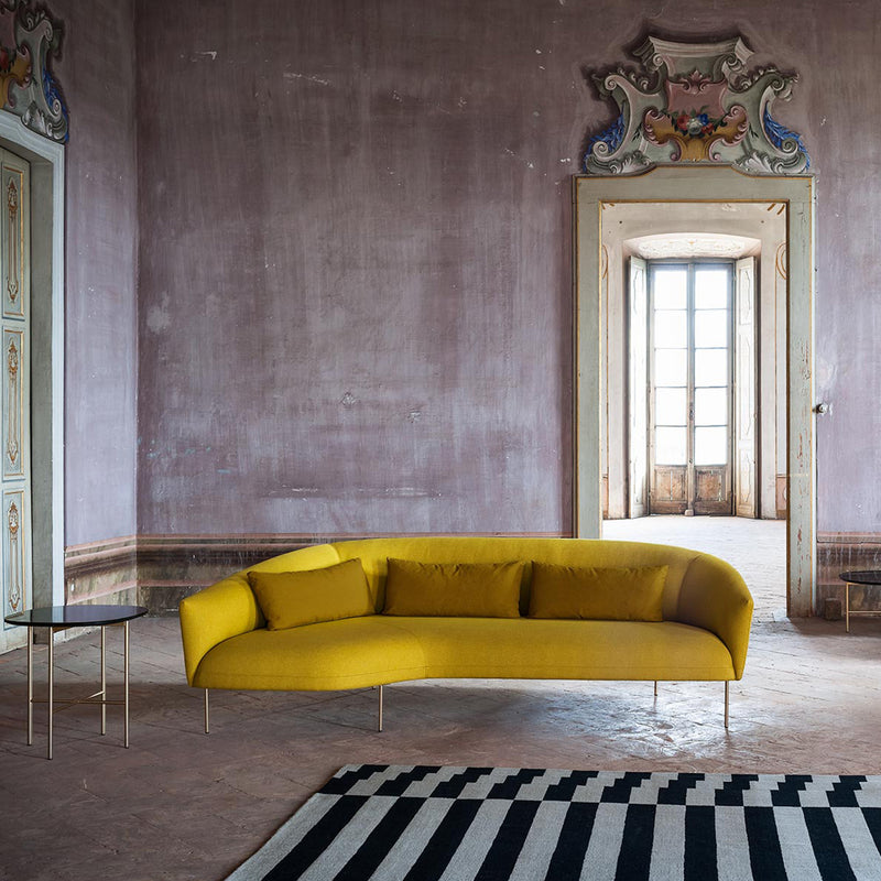 Roma Sofa w/Chaise Longue - Monologue London
