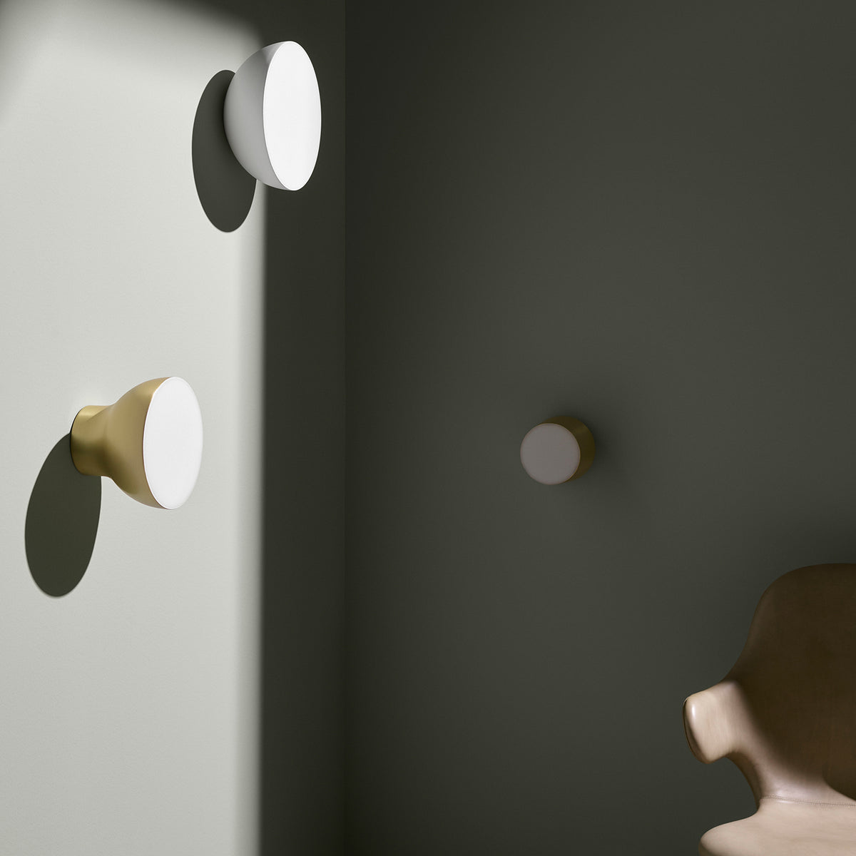 Passepartout Wall Light JH10 - Gold