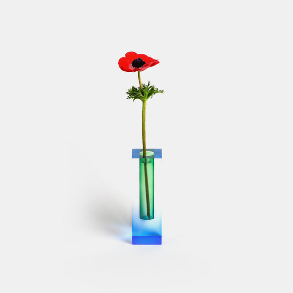 Mellow Vase - Blue & Green - Monologue London
