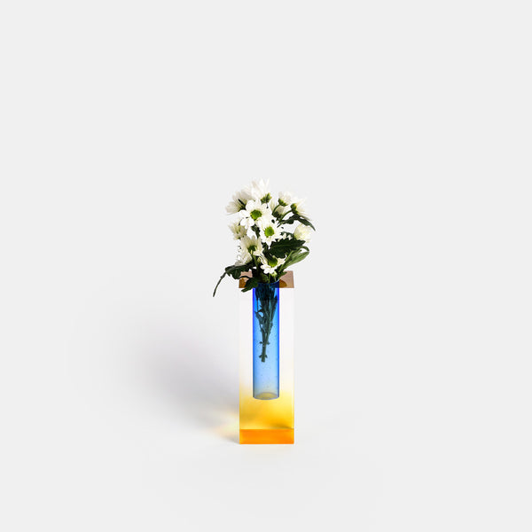 Mellow Vase - Yellow & Blue - Monologue London